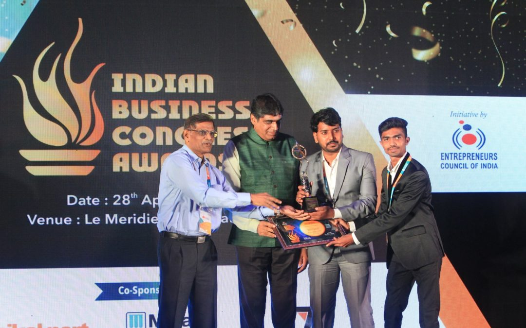 E MARSHALS THE WINNER OF INDIAN BUSINESS CONGRESS AWARDS